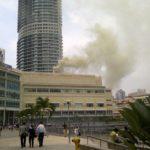 Tergempar Bangunan KLCC Terbakar