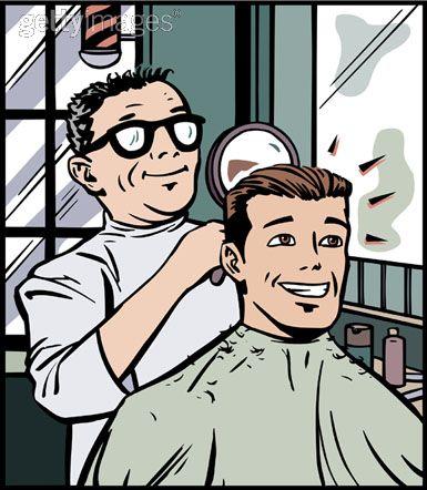 Hasil carian imej untuk tukang gunting rambut lelaki