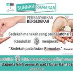 Indahnya sedekah Ramadhan