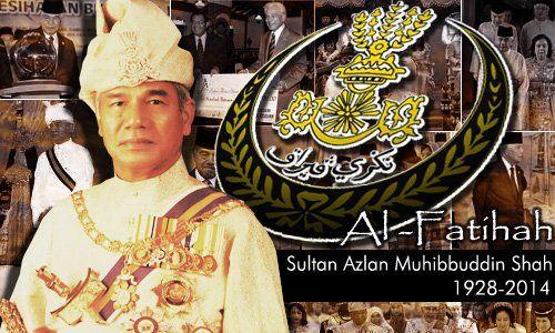 Sultan Azlan Shah dies