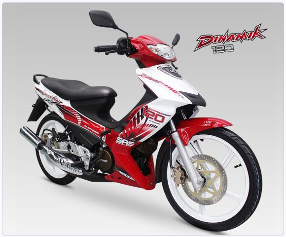 Motor Dinamik Modenas Merah