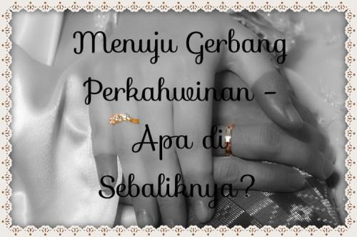 Menuju Gerbang Perkahwinan