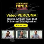 Video Affiliate Percuma – Ninja Affiliate Cara Duit Di Internet