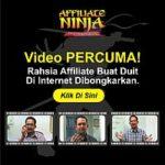 Video Affiliate Percuma – Ninja Affiliate Cara Duit Di Internet