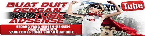 Buat Duit YouTube Adsense