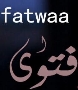 Fatwa agama islam